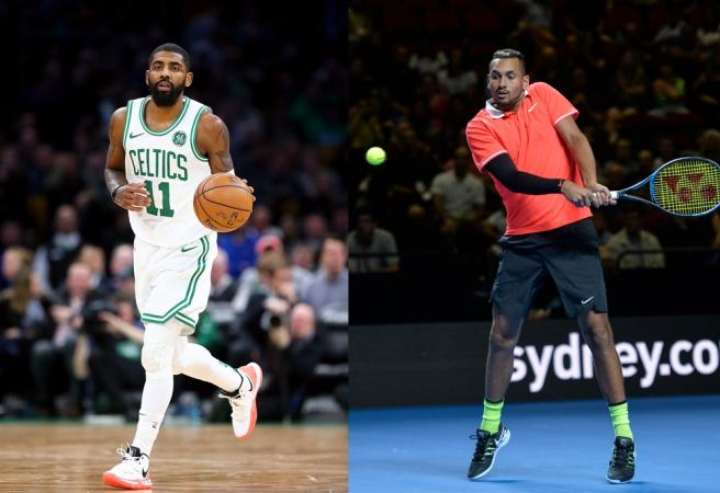 Kyrie Irving and Nick Kyrgios collab for new shoe