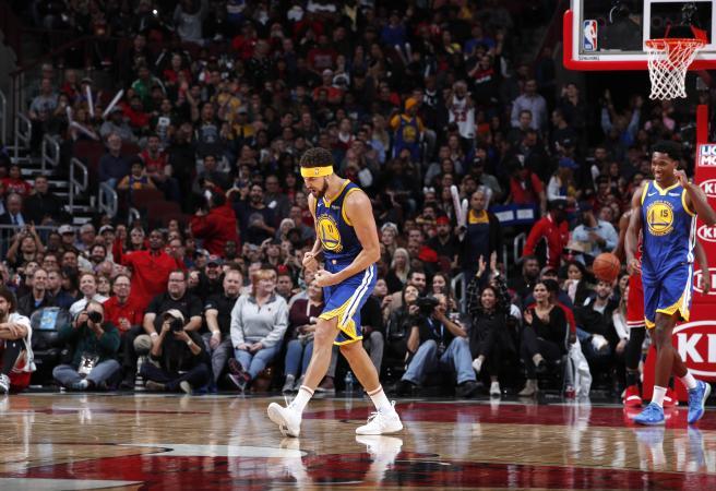 WATCH: Klay Thompson stuns the NBA with record shooting display