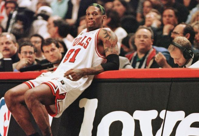 Dennis Rodman's career by the numbers