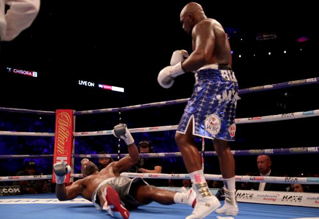 Brutal Body Snatcher left KOs Chisora