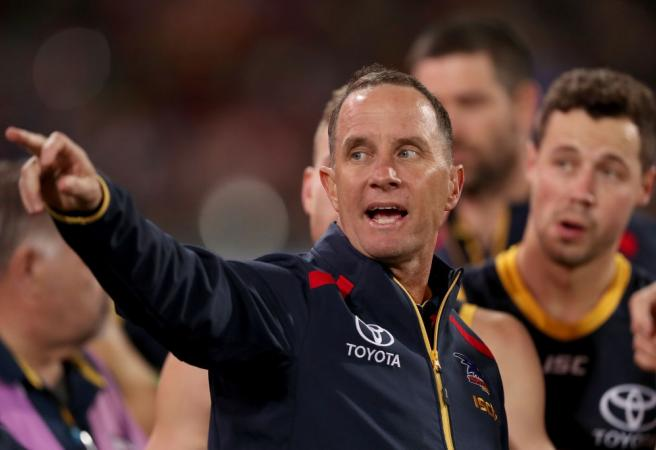Adelaide Crows coach makes call on his future