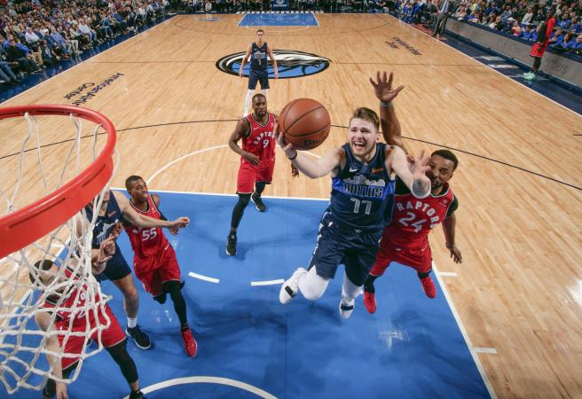Luka Doncic makes history in stellar performance
