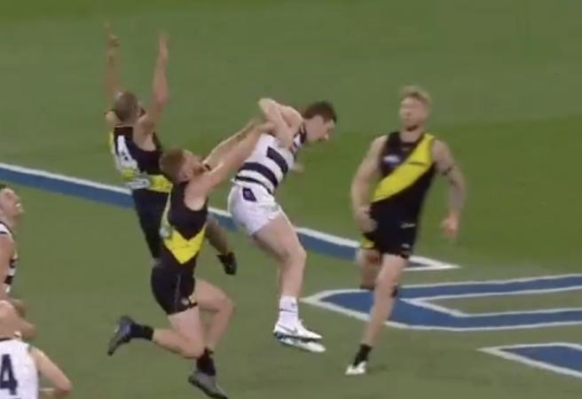 WATCH: Should Patrick Dangerfield be sanctioned for this dive?