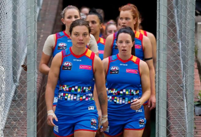 AFLW Round goes ahead despite new lockdown