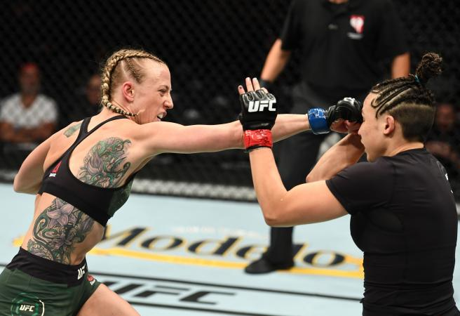 WATCH: Emily Whitmire drops F-bombs in UFC 226 outburst