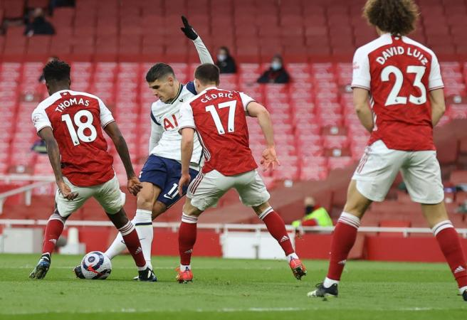 Lamela: From Rabona to Red Card