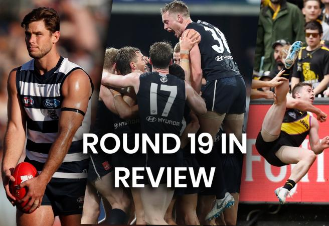 AFL Round 19 in Review