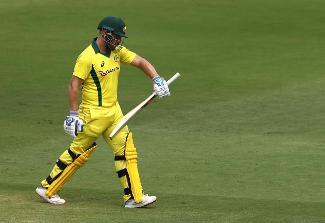 More woe for Aaron Finch