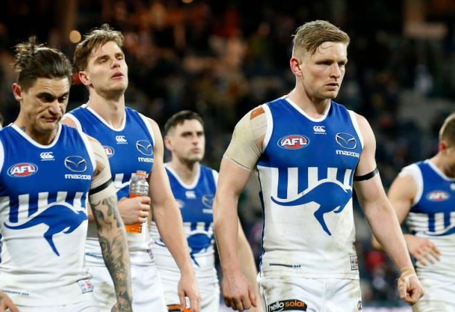 What are the lowest scores in AFL history?