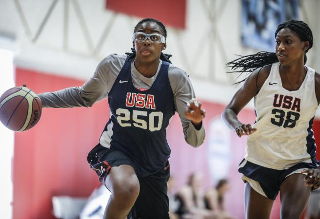 WATCH: Female high school basketballer stuns world with dunk