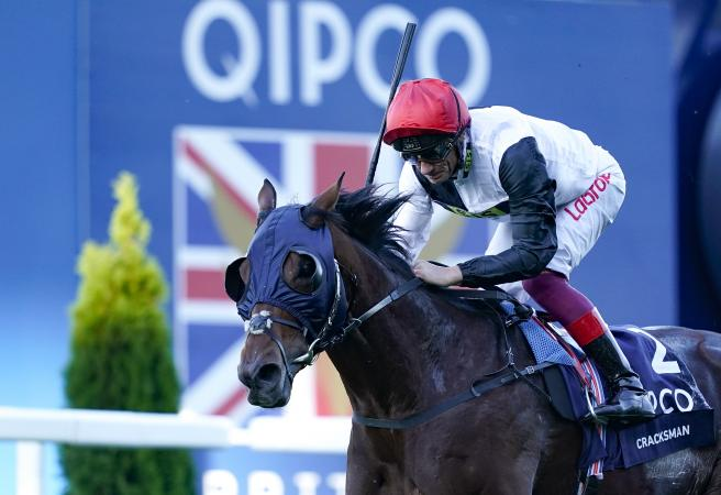 Cracksman bows out a winner with second Champions Stakes victory