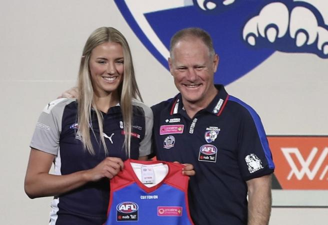 First round selections in the AFLW Draft
