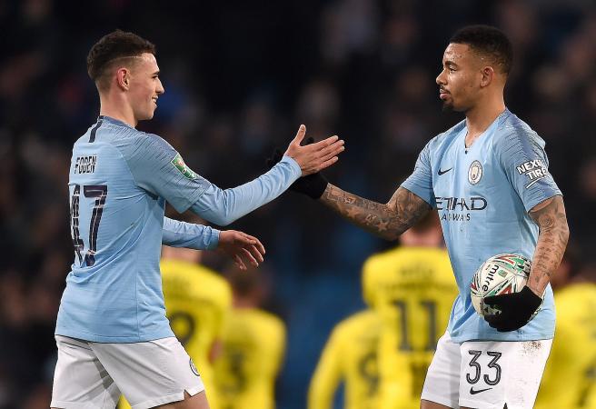 Man City destroy English third-tier team