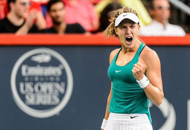 Date with Genie Bouchard sells for stunning amount at charity auction