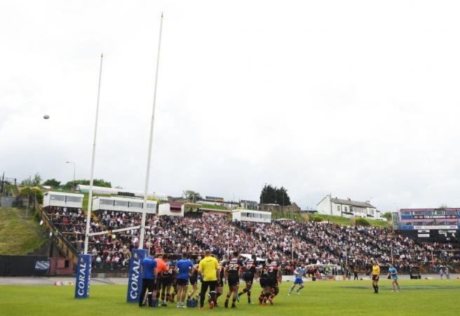 Rugby player handed suspension after testicle grab