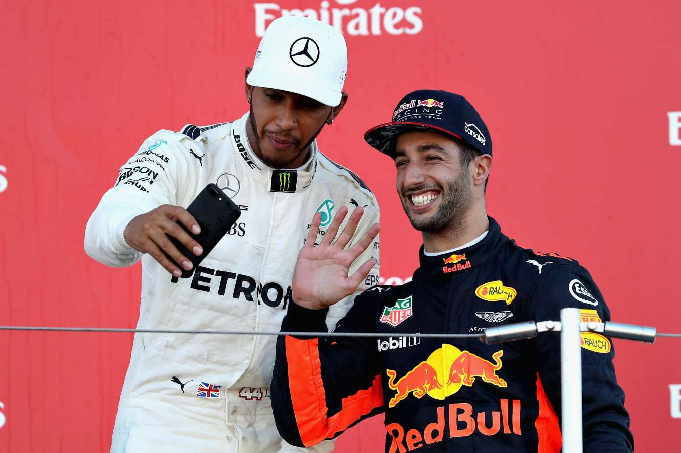 Lewis Hamilton v Daniel Ricciardo - An Albert Park rivalry