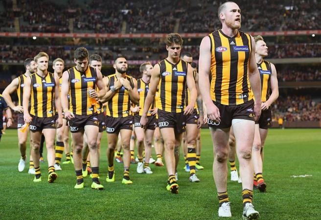 Horrid howlers from Hawthorn heroes prove horrendous