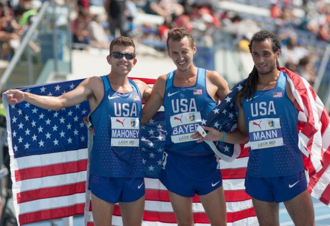 "American runner: ""How fast could I run if I was sitting around jacking off all day?"""