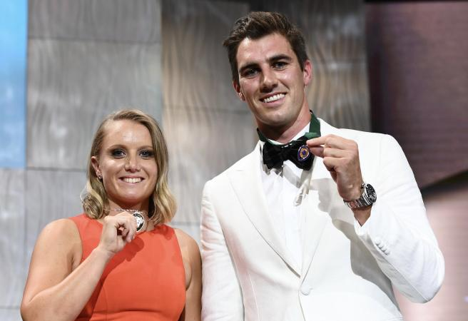The best bits from the Australian Cricket Awards
