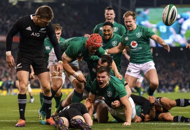 Ireland pull off massive upset over All Blacks