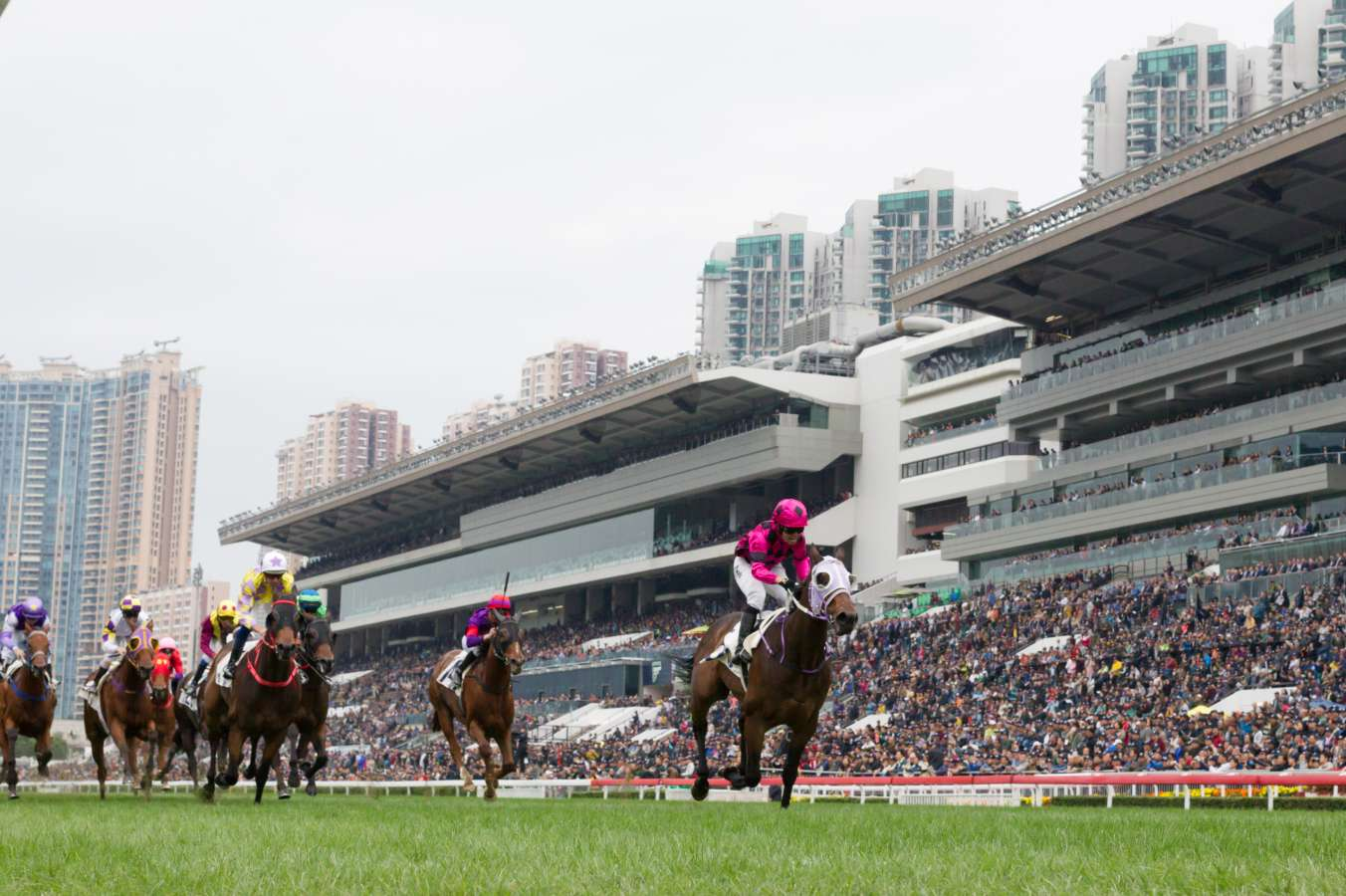 Australians feature in entries for Champions Day in Hong Kong
