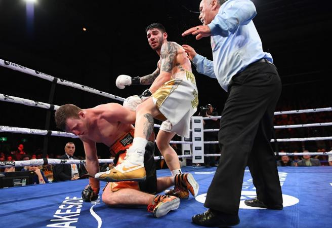 Jeff Horn KO'd in shock upset