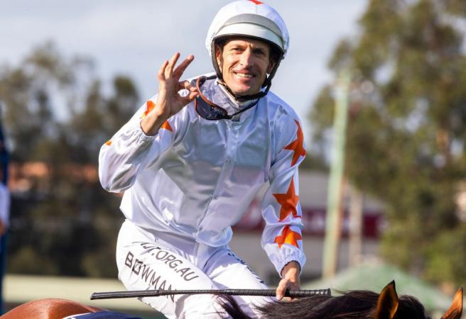 Golden Slipper win leaves Hugh Bowman with glow