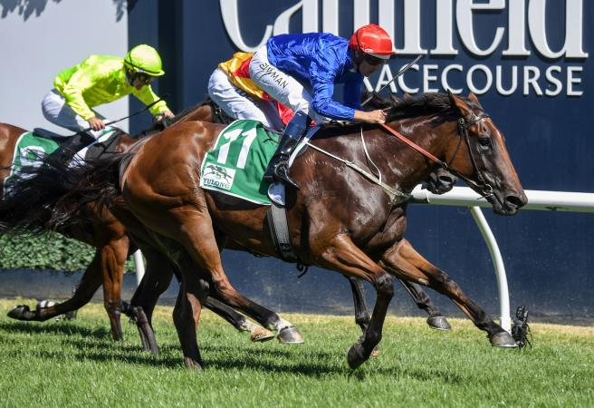 Godolphin's Alizee toughs it out to win Futurity Stakes