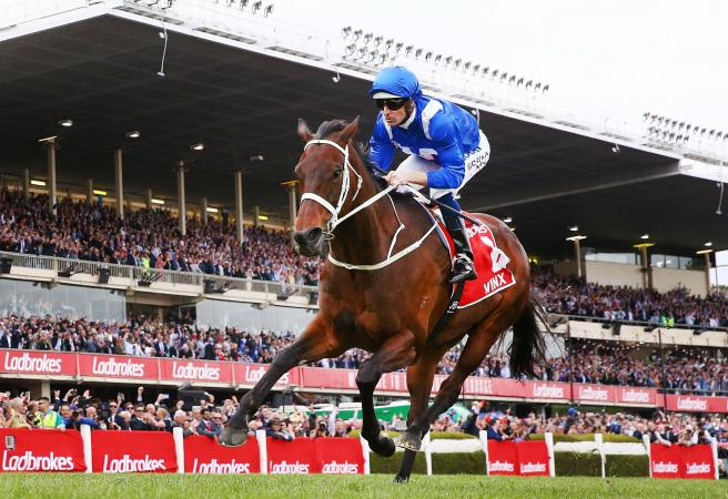 Wonder mare Winx claims record fourth straight Cox Plate win
