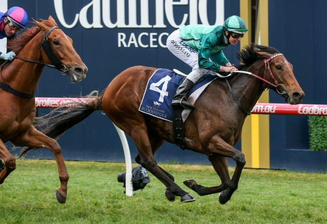 Humidor wins the Group One Memsie Stakes