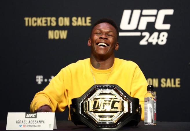 """""""It's me and this f***boy fighting in front of a couple of billionaires"""": Israel Adesanya excited by potential Fight Island bout against Paulo Costa"""