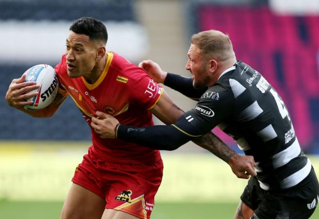 Israel Folau sets up match-winner in first Super League game in England