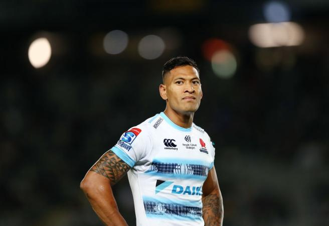 Israel Folau signs with French rugby league team