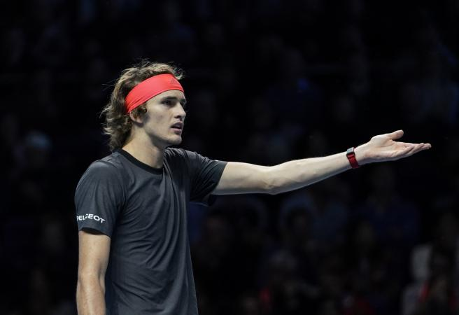 Anderson and Zverev come under fire as Djokovic progresses and Federer goes down