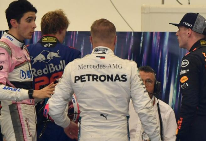 Drivers in physical altercation after Brazilian GP
