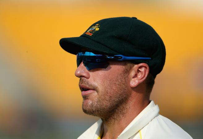 Aaron Finch in centre of bizarre batting order debacle