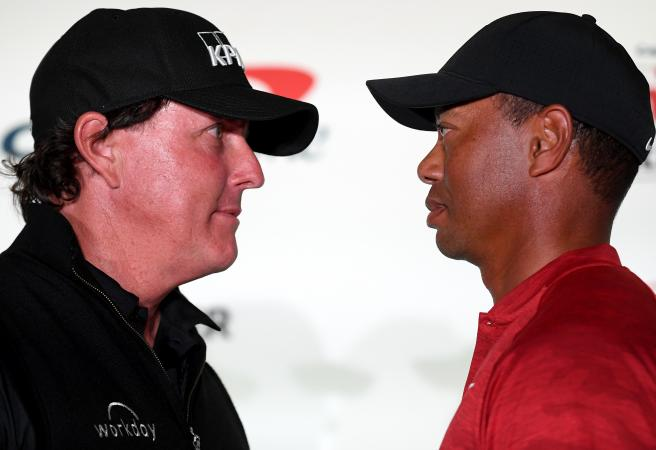 Tiger and Phil make $200k side bet