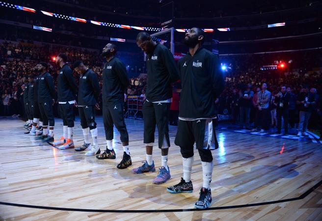 NBA All-Star teams selected