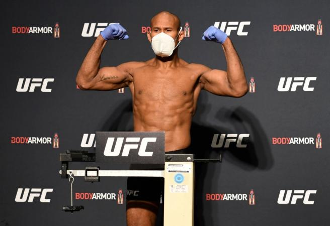 Positive COVID-19 test rules star out of UFC 249