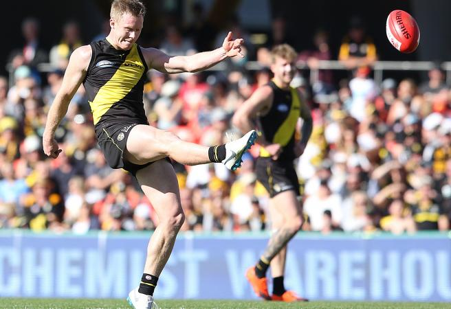 Jack Riewoldt boots 10 as Tigers torch Suns