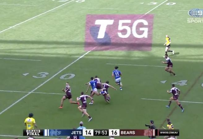 WATCH: Last second try wins Grand Final