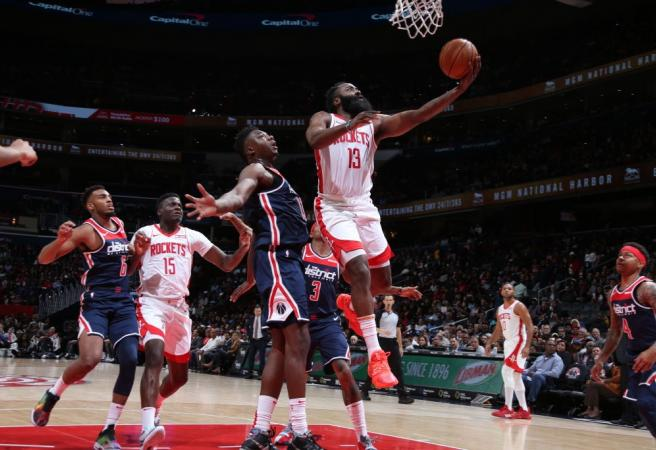 James Harden goes berserk as Rockets win 159-158