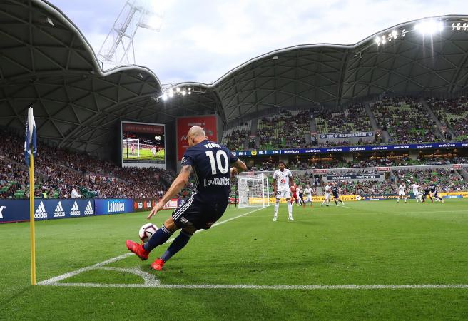 Toivonen rescues point, Melbourne Victory go top of A-League