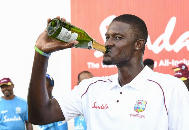 England collapse again in emotional West Indies win