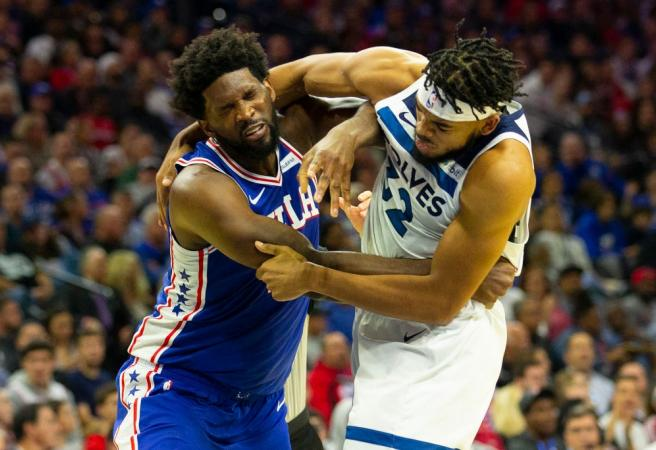 NBA hands down suspensions after 76ers-T-Wolves fight