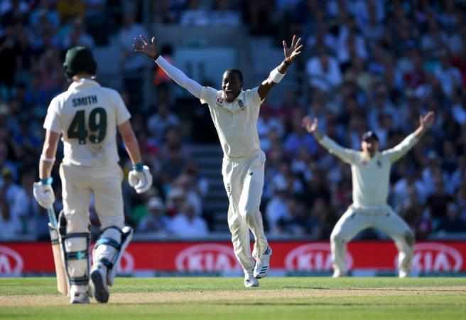 Ashes: Jofra Archer gives England the upper hand