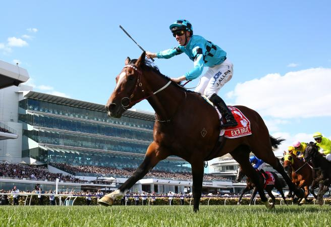 Extra Brut claims Group 1 Victoria Derby at Flemington for Darren Weir
