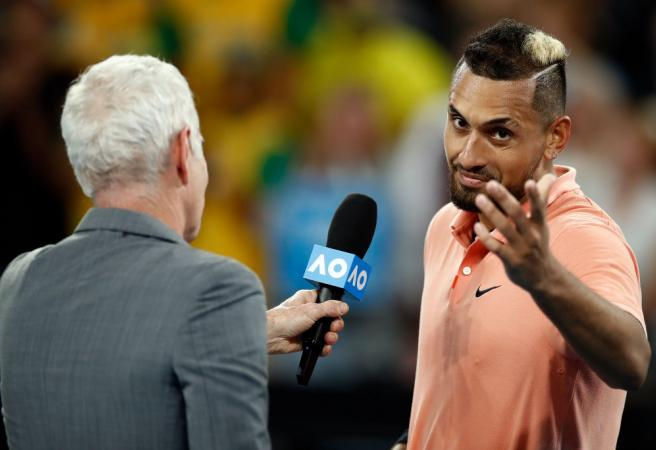 WATCH: McEnroe's great interview with Kyrgios