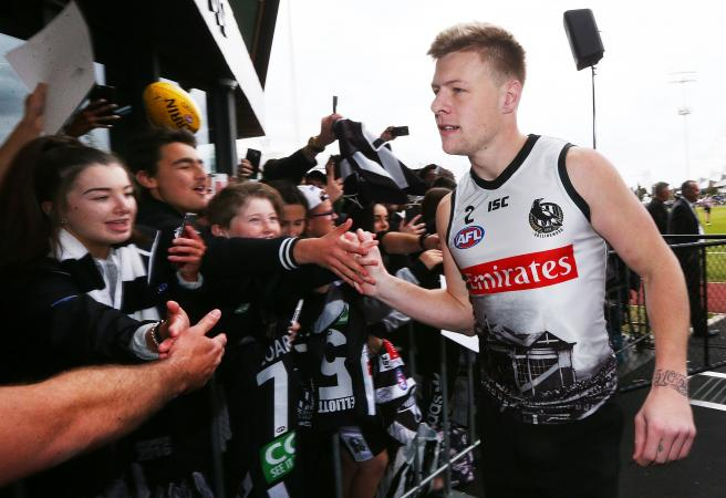 Cryptic Collingwood release first statement on De Goey injury