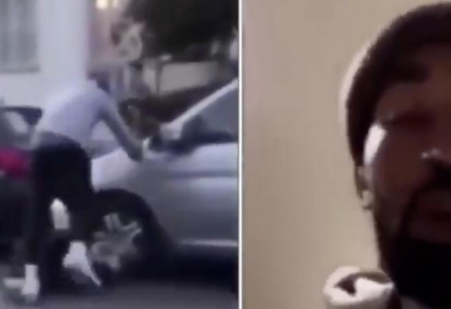 WATCH: NBA star JR Smith beats up man for damaging his truck